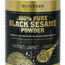 organic Pure Black Sesame Powder