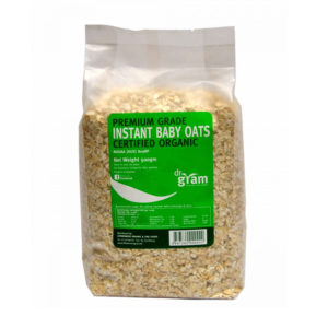 Dr Gram Organic Instant Baby Oats 500g