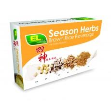 EL season herbs brown rice beverage